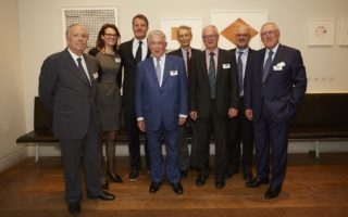 The Foundation Board (from left): Ralph Kanza, Nathalie Blomjous, Martin Eisenring, Claudio Segré, Luigi Boitani, Claude Martin, Tim Flannery and Luc Hafner