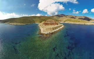 Gyaros Island © G. Stefanou / WWF Greece