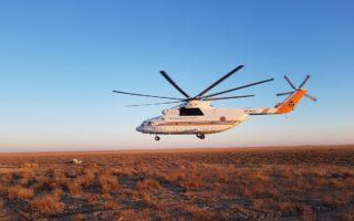 Helicopter © P. Kaczensky / NINA