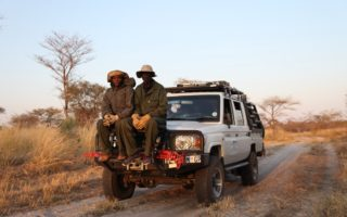 Rangers at work © Panthera