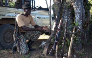 SAPU Recovered illegal weapons © Game Rangers International/Panthera